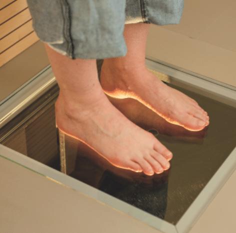 3D laser foot scanner