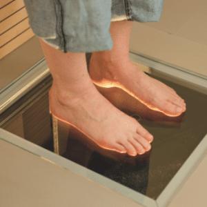 paromed laser scanner for custom orthotics